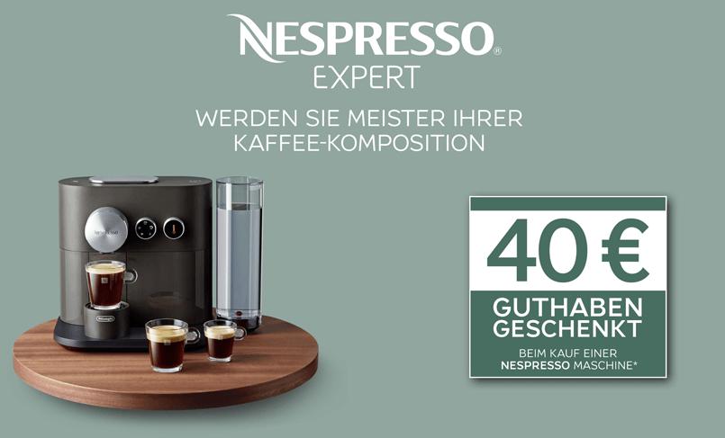 Nespresso Expert Vorteilsaktion