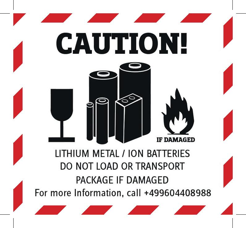 dangerous goods label-LI