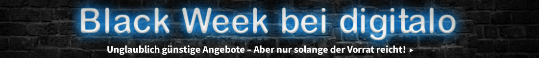 Black Week 2018 bei digitalo