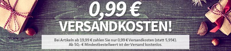 0,99 € Versandkosten!