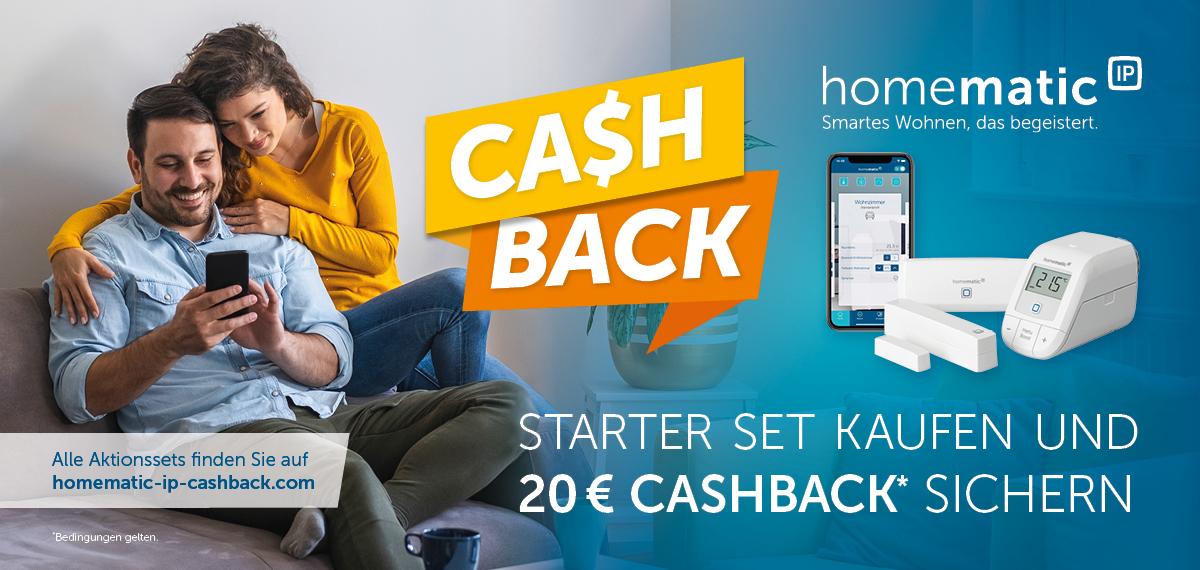 HomematicIP Cashback
